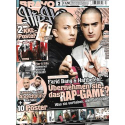 BRAVO Hip Hop Nr.2 / 3 Februar 2012 - Farid Bang & Haftbefehl