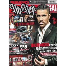 BRAVO Hip Hop Nr.3 / 5 Februar 2010- Bushido Geheimnisse