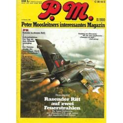 P.M. Ausgabe November 11/1980 - Rasender Ritt auf ...