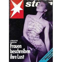 stern Heft Nr.18 / 27 April 1989 - Frauen beschreiben ihre Lust