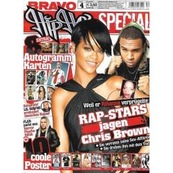 BRAVO Hip Hop Nr.4 / 6 März 2009 - Rap Stars jagen Chris Brown