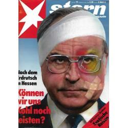 stern Heft Nr.12 / 16 März 1989 - Können wir uns Kohl noch leisten?