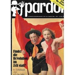 pardon Heft 5 / Mai 1970 - Findet die Revolution im Zelt statt?