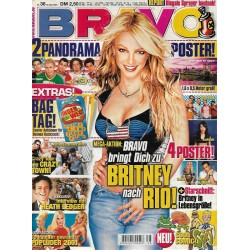 BRAVO Nr.38 / 12 Septebmer 2001 - Britney nach Rio!