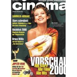 CINEMA 1/00 Januar 2000 - Milla Jovovich