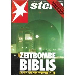 stern Heft Nr.50 / 8 Dezember 1988 - Zeitbombe Biblis