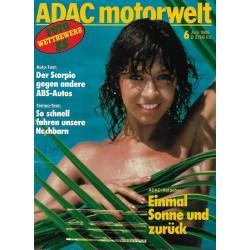 ADAC Motorwelt Heft.6 / Juni 1985 - Einmal Sonne & zurück