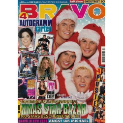 BRAVO Nr.52 / 20 Dezember 1995 - Xmas: Caught in the Act