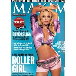 MAXIM September 2001 - Nicci Juice / Roller Girl
