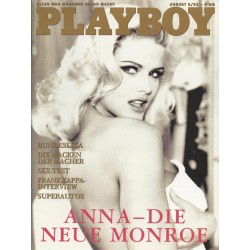 Playboy Nr.8 / August 1993 - Anna Nicole Smith