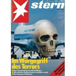 stern Heft Nr.17 / 21 April 1988 - Im Würgegriff des Terrors
