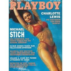 Playboy Nr.7 / Juli 1993 - Charlotte Lewis