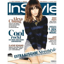 InStyle 11/November 2013 - Alexa Chung / Cool rockt