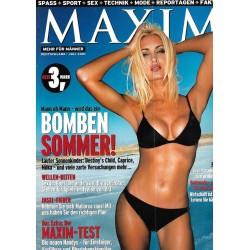 MAXIM Juli 2001 - Caprice / Bomben Sommer!