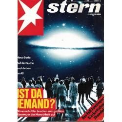 stern Heft Nr.47 / 17 November 1988 - Ist da Jemand?