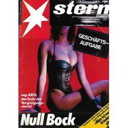 stern Heft Nr.7 / 11 Februar 1988 - Null Bock