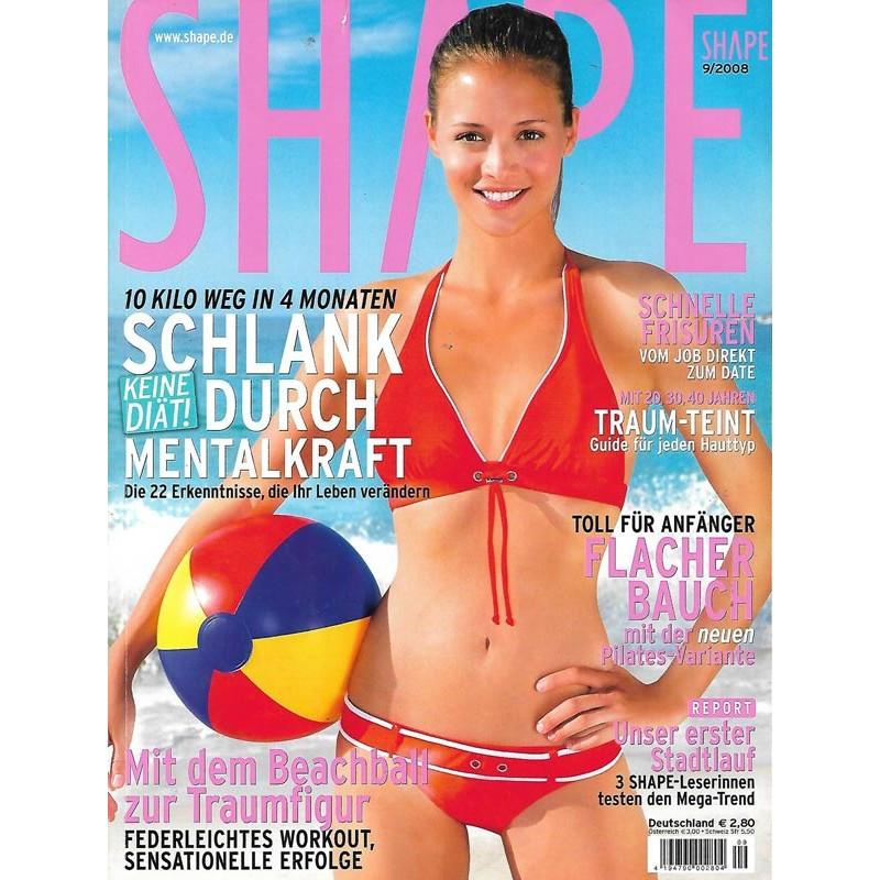 Shape 9/September 2008 - Erin / Beachball & Traumfigur