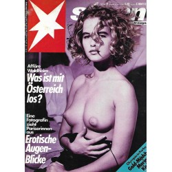 stern Heft Nr.9 / 25 Februar 1988 - Erotische Augenblicke