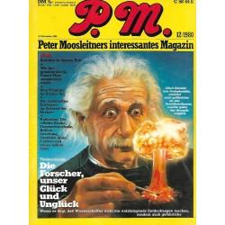 P.M. Ausgabe Dezember 12/1980 - Albert Einstein