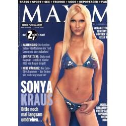 MAXIM Februar 2002 - Sonya Kraus