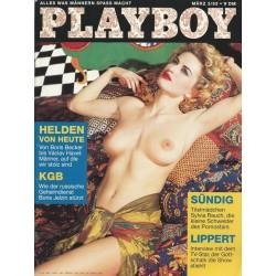 Playboy Nr.3 / März 1993 - Sylvia Rauch