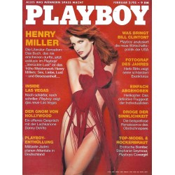 Playboy Nr.2 / Februar 1993 - Stephanie Seymour