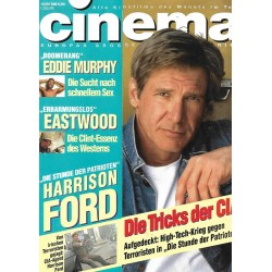 CINEMA 10/92 Oktober 1992 - Harrison Ford