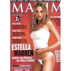 MAXIM März 2002 - Estella Warren
