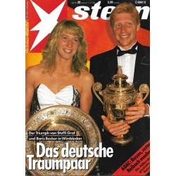 stern Heft Nr.29 / 13 Juli 1989 - Das deutsche Traumpaar
