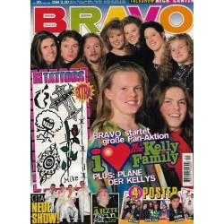 BRAVO Nr.20 / 9 Mai 1996 - I Love The Kelly Family