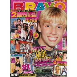 BRAVO Nr.48 / 21 November 1996 - Nicks neue Frisur!