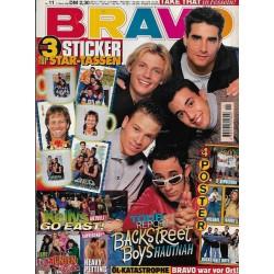 BRAVO Nr.11 / 7 März 1996 - Backstreet Boys hautnah