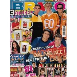 BRAVO Nr.18 / 25 April 1996 - Neues Video Backstreet Boys