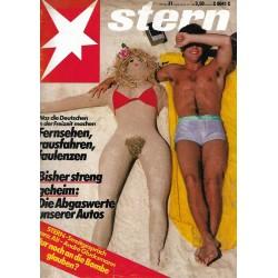stern Heft Nr.31 / 26 Juli 1984 - Fernsehen, rausfahren, faulenzen