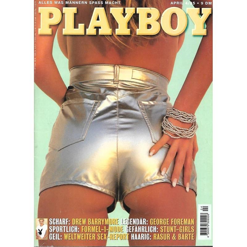 Playboy Nr.4 / April 1995 - Weltweiter Sex Report