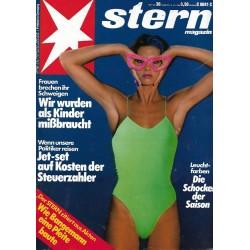 stern Heft Nr.30 / 19 Juli 1984 - Die Schocker der Saison