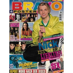 BRAVO Nr.32 / 1 August 1996 - Nick ist euer Liebling
