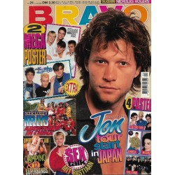 BRAVO Nr.24 / 5 Juni 1996 - Jon Tour startet in Japan