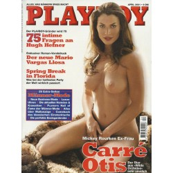 Playboy Nr.4 / April 2001 - Carré Otis