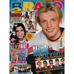 BRAVO Nr.6 / 1 Februar 1996 - Nick Carter ganz intim!