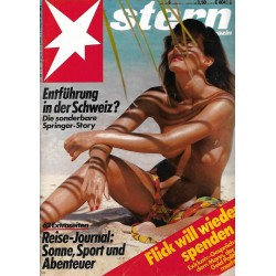 stern Heft Nr.6 / 31 Januar 1985 - Sonne, Sport, Abenteuer