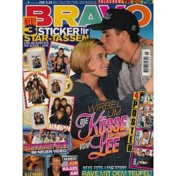 BRAVO Nr.5 / 25 Januar 1996 - Wirbel um die Küsse von Lee