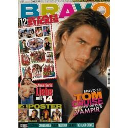 BRAVO Nr.51 / 15 Dezember 1994 - Bravo bei Tom Cruise