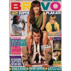 BRAVO Nr.4 / 21 Januar 1993 - Luke & Shannen Story