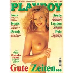 Playboy Nr.7 / Juli 1997 - Alexandra Neldel