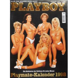 Playboy Nr.1 / Januar 1998 - Playmate Kalender 1998