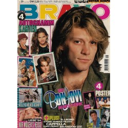 BRAVO Nr.29 / 14 Juli 1994 - Bei Bon Jovi in New York