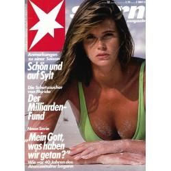 stern Heft Nr.32 / 1 August 1985 - Schön auf Sylt