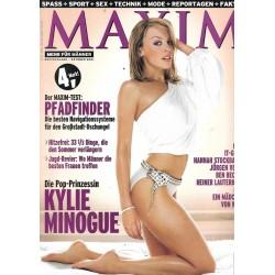 MAXIM Oktober 2001 - Kylie Minogue