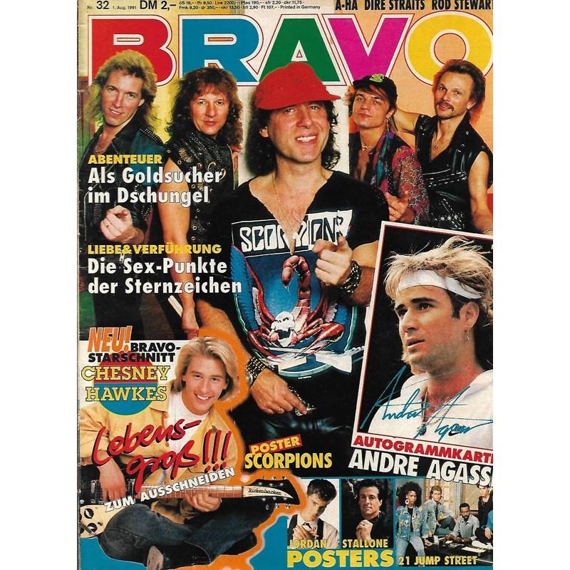 BRAVO Nr.32 / 1 August 1991 - Scorpions